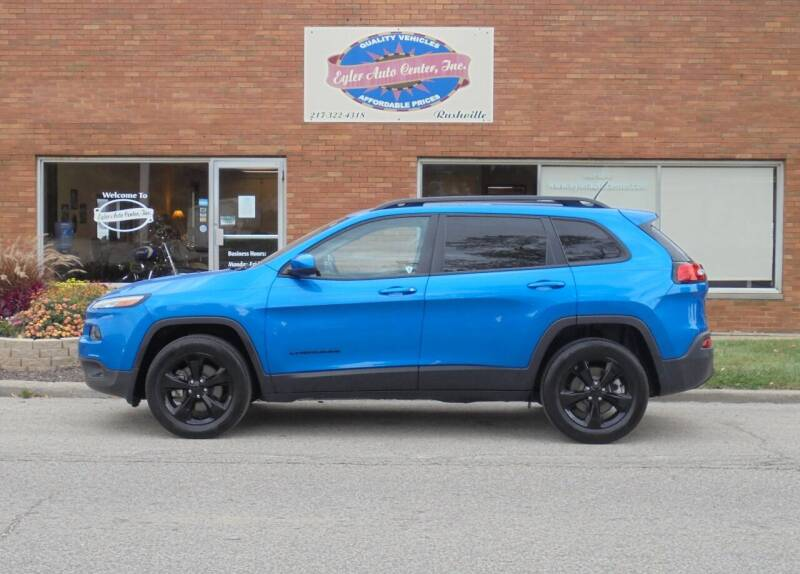 2018 Jeep Cherokee for sale at Eyler Auto Center Inc. in Rushville IL