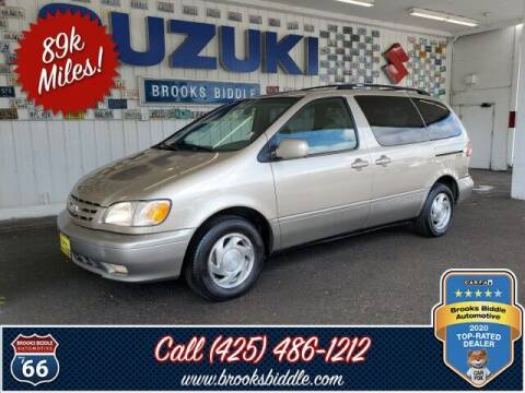 2001 Toyota Sienna for sale at BROOKS BIDDLE AUTOMOTIVE in Bothell WA