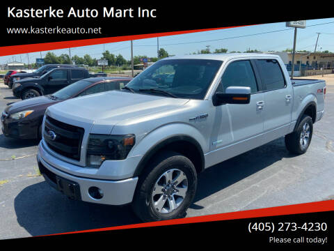 2013 Ford F-150 for sale at Kasterke Auto Mart Inc in Shawnee OK