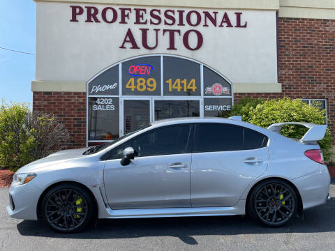2018 Subaru WRX for sale at Professional Auto Sales & Service in Fort Wayne IN