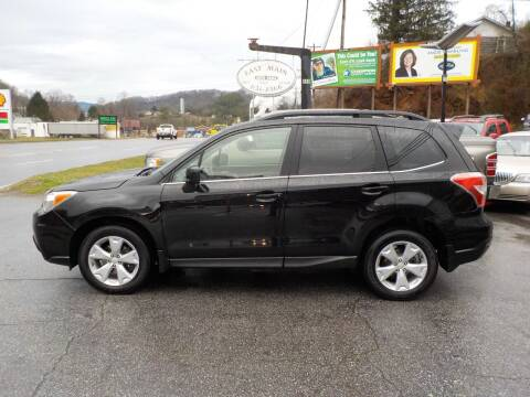 2015 Subaru Forester for sale at EAST MAIN AUTO SALES in Sylva NC