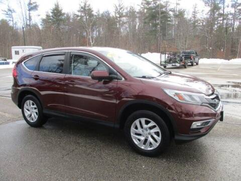 2015 Honda CR-V for sale at MC FARLAND FORD in Exeter NH