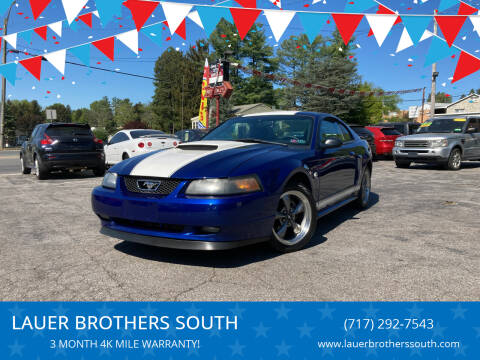 2004 Ford Mustang for sale at LAUER BROTHERS SOUTH in York PA