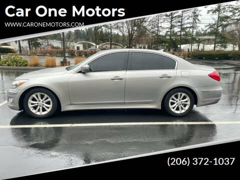 2012 Hyundai Genesis for sale at Car One Motors in Seattle WA