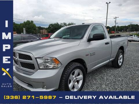 2013 RAM Ram Pickup 1500 for sale at Impex Auto Sales in Greensboro NC