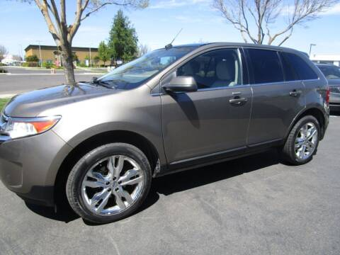 2014 Ford Edge for sale at KM MOTOR CARS in Modesto CA