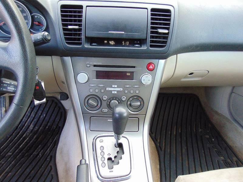 2007 Subaru Outback AWD 2.5i 4dr Wagon (2.5L F4 4A) - Waterbury CT