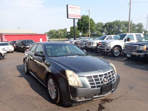 2012 Cadillac CTS for sale at Marty's Auto Sales in Savage MN