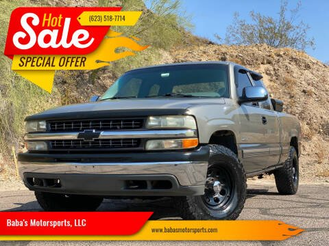 2000 Chevrolet Silverado 1500 for sale at Baba's Motorsports, LLC in Phoenix AZ