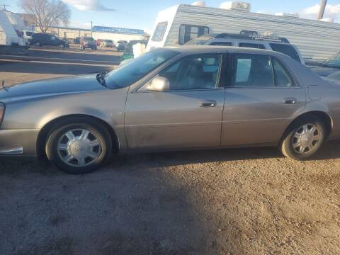 2004 Cadillac DeVille for sale at PYRAMID MOTORS - Fountain Lot in Fountain CO