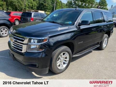 2016 Chevrolet Tahoe for sale at Warren Auto Sales in Oxford NY