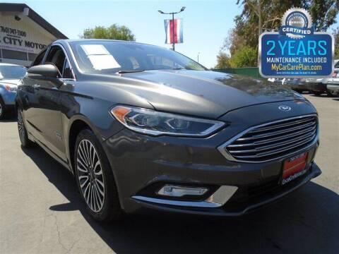 2017 Ford Fusion Energi for sale at Centre City Motors in Escondido CA