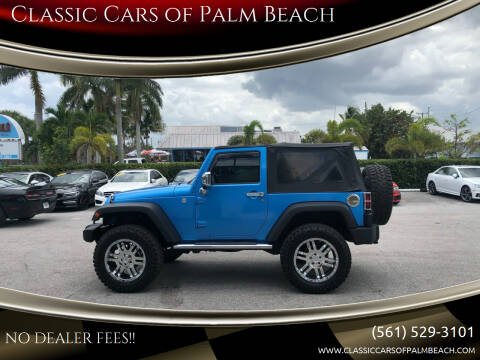 2010 Jeep Wrangler for sale at Classic Cars of Palm Beach in Jupiter FL
