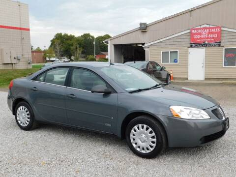 2008 Pontiac G6 for sale at Macrocar Sales Inc in Akron OH