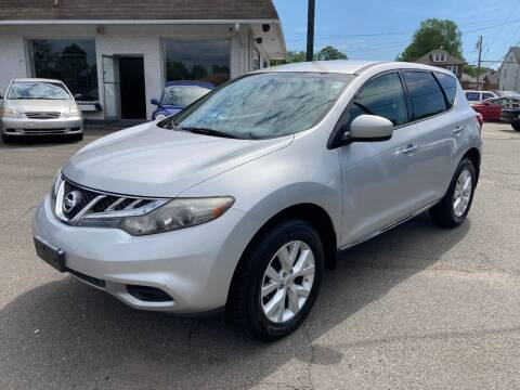 2012 Nissan Murano for sale at ENFIELD STREET AUTO SALES in Enfield CT