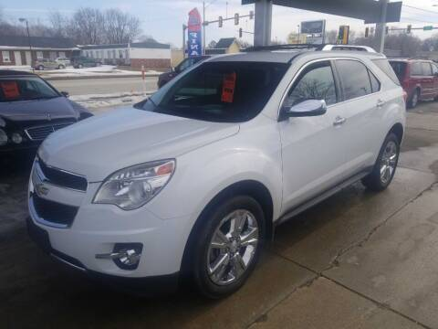2013 Chevrolet Equinox for sale at Springfield Select Autos in Springfield IL