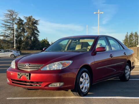 2003 Toyota Camry for sale at Rave Auto Sales in Corvallis OR