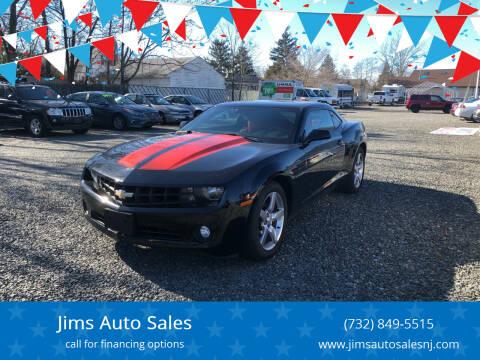 2010 Chevrolet Camaro for sale at Jims Auto Sales in Lakehurst NJ