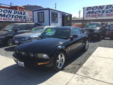 2008 Ford Mustang for sale at DON DIAZ MOTORS in San Diego CA