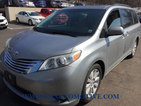 2011 Toyota Sienna for sale at J & M Automotive in Naugatuck CT