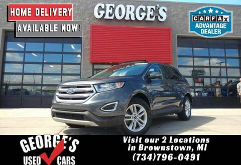 2015 Ford Edge for sale at George's Used Cars - Telegraph in Brownstown MI