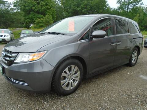2015 Honda Odyssey for sale at Wimett Trading Company in Leicester VT