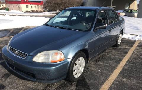 1998 Honda Civic for sale at Peak Motors in Loves Park IL