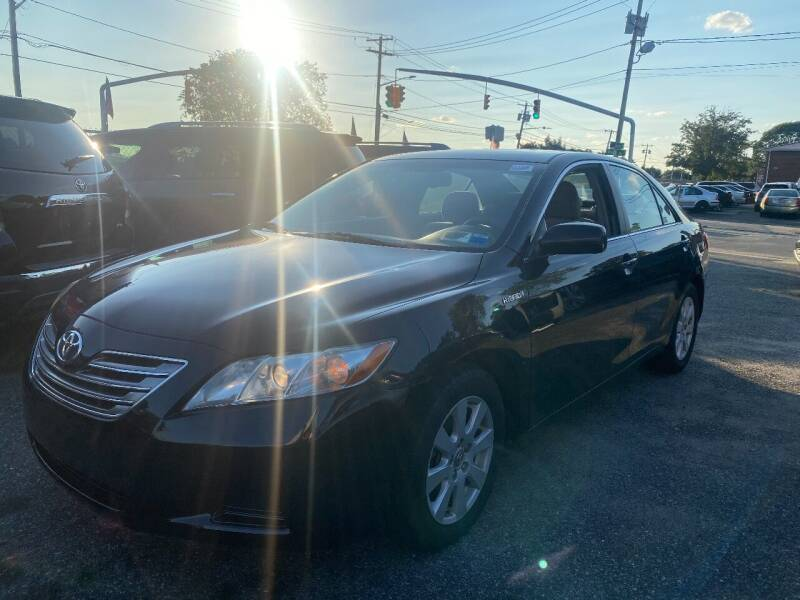 2008 Toyota Camry Hybrid for sale at American Best Auto Sales in Uniondale NY