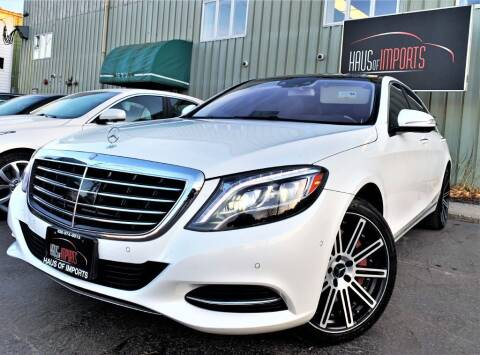 2015 Mercedes-Benz S-Class for sale at Haus of Imports in Lemont IL