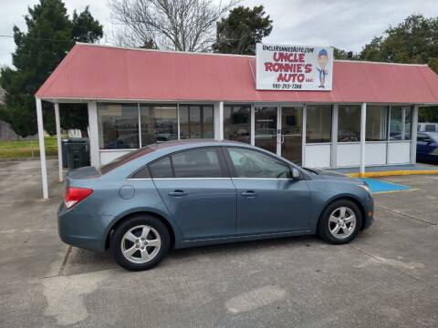 2012 Chevrolet Cruze for sale at Uncle Ronnie's Auto LLC in Houma LA