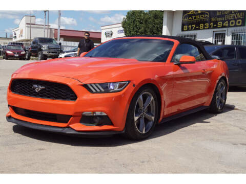 2015 Ford Mustang for sale at Watson Auto Group in Fort Worth TX