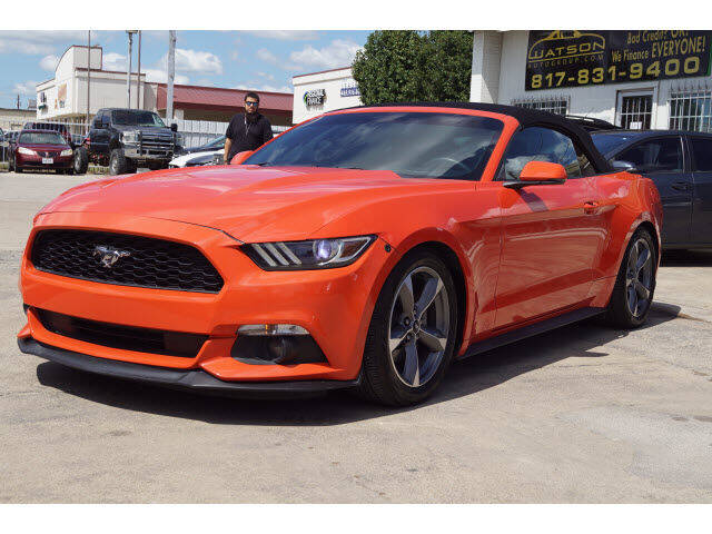 2015 Ford Mustang for sale at Monthly Auto Sales in Fort Worth TX