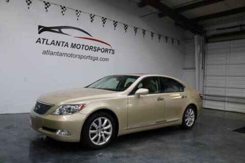 2007 Lexus LS 460 for sale at Atlanta Motorsports in Roswell GA