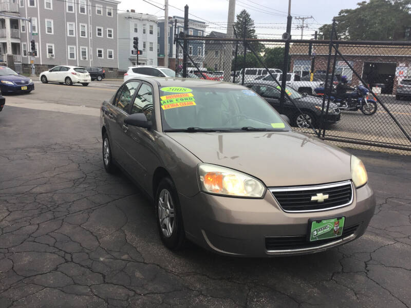 2008 Chevrolet Malibu Classic for sale at Adams Street Motor Company LLC in Dorchester MA