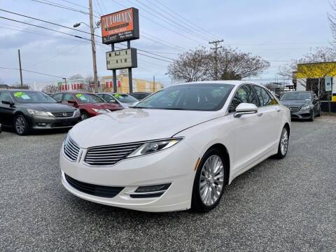 2016 Lincoln MKZ for sale at Autohaus of Greensboro in Greensboro NC