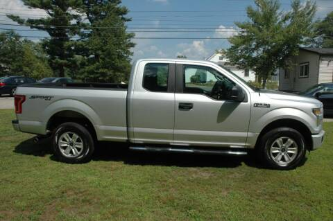2016 Ford F-150 for sale at Bruce H Richardson Auto Sales in Windham NH