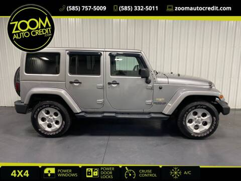 2014 Jeep Wrangler Unlimited for sale at ZoomAutoCredit.com in Elba NY
