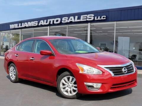 2015 Nissan Altima for sale at Williams Auto Sales, LLC in Cookeville TN