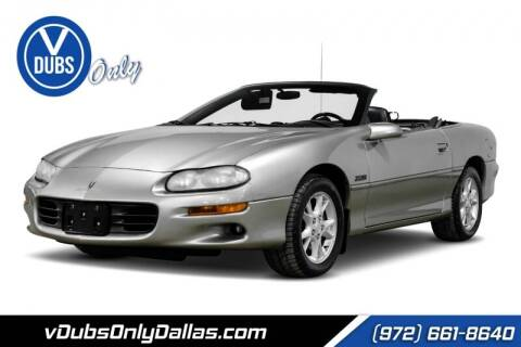 2002 Chevrolet Camaro for sale at VDUBS ONLY in Dallas TX