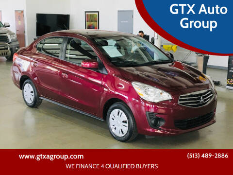 2019 Mitsubishi Mirage G4 for sale at GTX Auto Group in West Chester OH