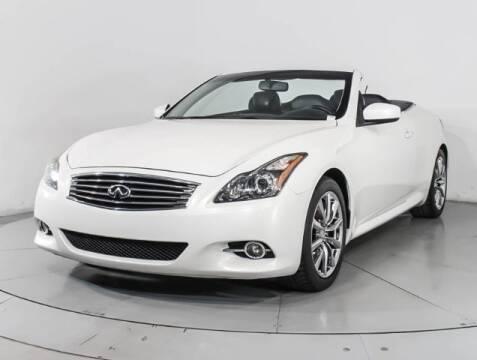 2013 Infiniti G37 Convertible for sale at USA Auto Inc in Mesa AZ