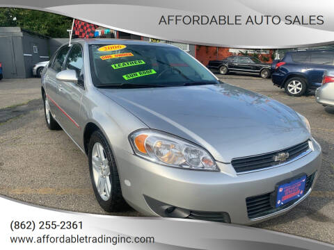 2006 Chevrolet Impala for sale at Affordable Auto Sales in Irvington NJ