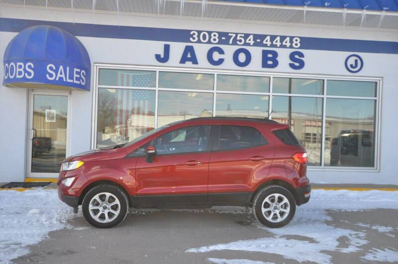 2018 Ford EcoSport for sale at Jacobs Ford in Saint Paul NE