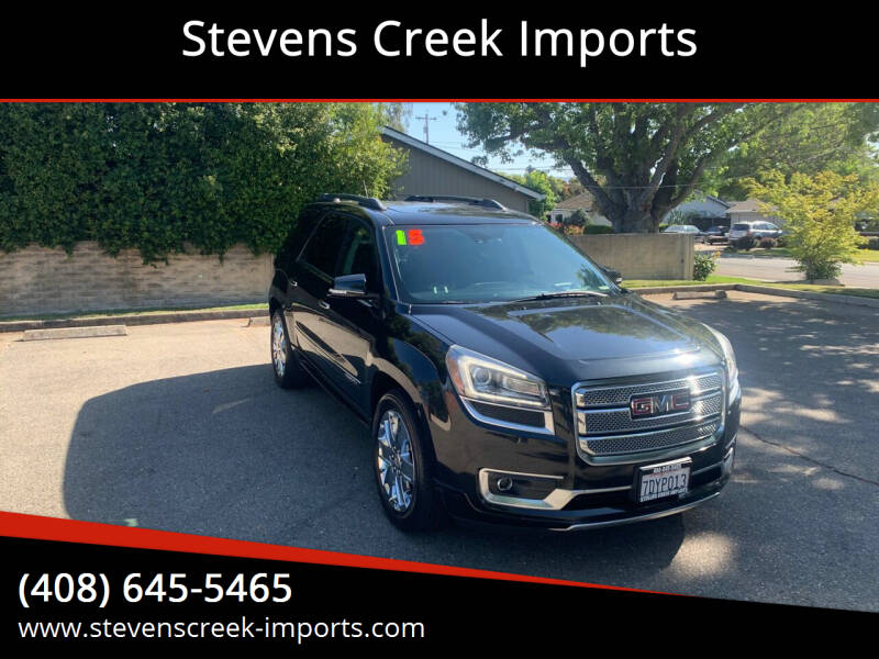 2015 GMC Acadia for sale at Stevens Creek Imports in San Jose CA