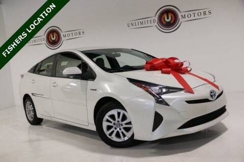 2016 Toyota Prius for sale at Unlimited Motors in Fishers IN