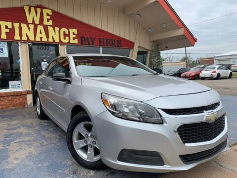 2015 Chevrolet Malibu for sale at Caspian Auto Sales in Oklahoma City OK