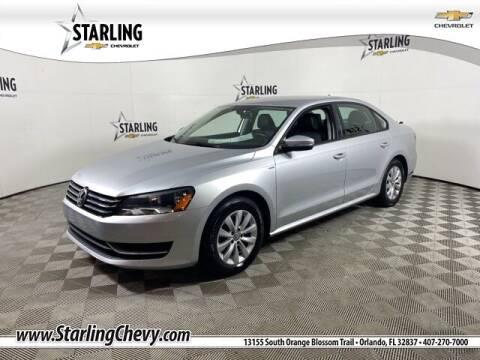 2015 Volkswagen Passat for sale at Pedro @ Starling Chevrolet in Orlando FL