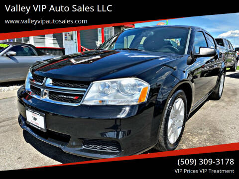 2014 Dodge Avenger for sale at Valley VIP Auto Sales LLC in Spokane Valley WA