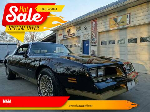 1978 Pontiac Firebird for sale at MGM CLASSIC CARS in Addison IL