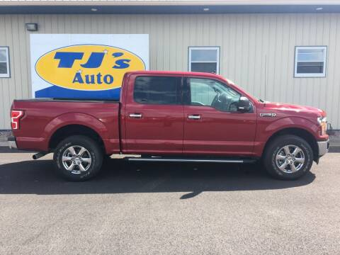 2019 Ford F-150 for sale at TJ's Auto in Wisconsin Rapids WI